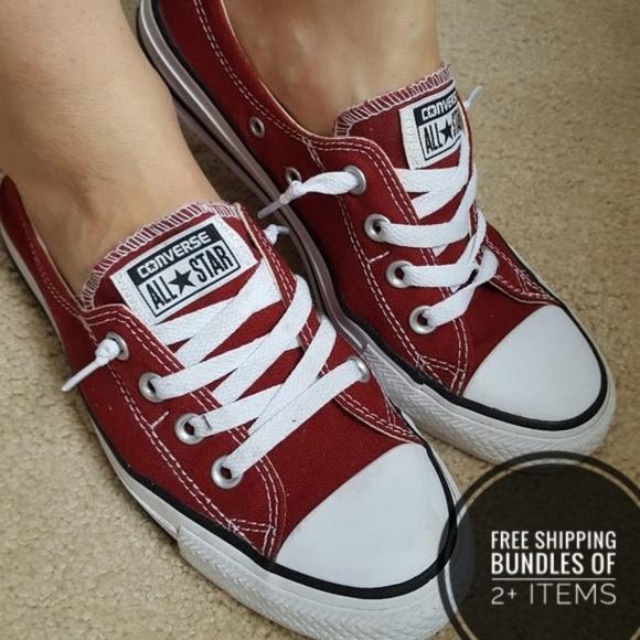 Converse Shoes | Sz 8 Shoreline Red